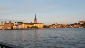 Beautiful Stockholm where the meeting was held