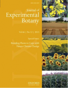 The Journal of Experimental Botany (JXB) published a special issue in June entitled 'Breeding plants to cope with future climate change'