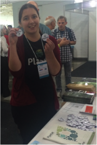 New Media Fellow Sarah Jose promotes our new Plantae platform at IPMB 2015