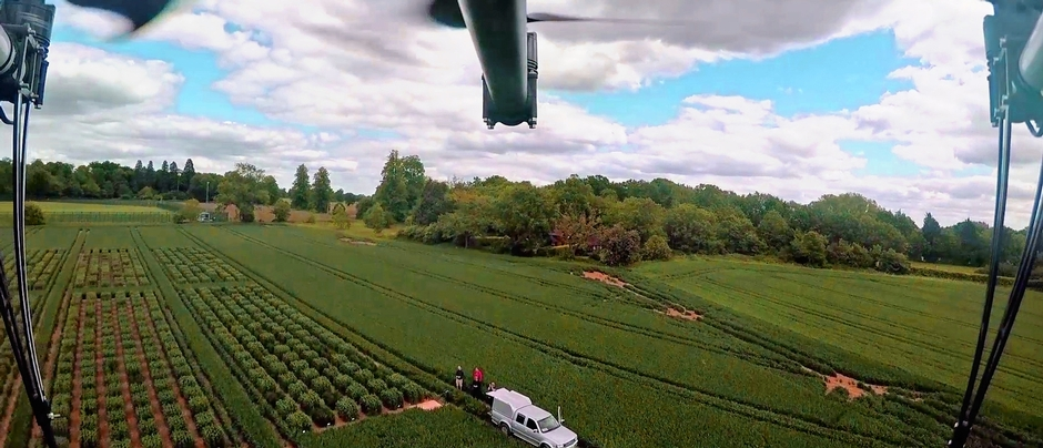 Drones at Rothamsted