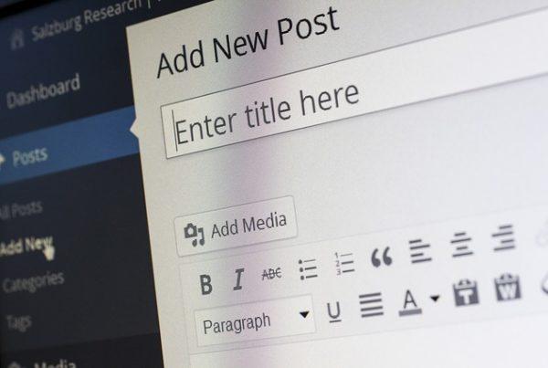 wordpress new post science communication